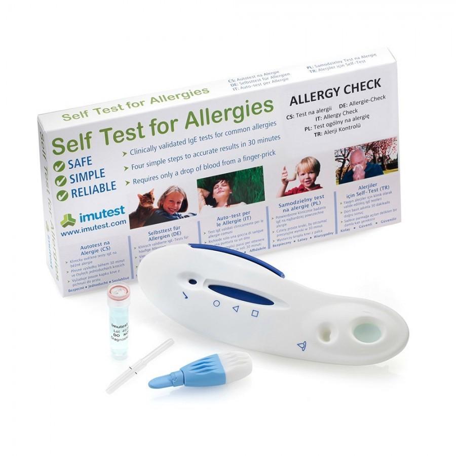 Imutest Allergy Check - obecný test na alergie