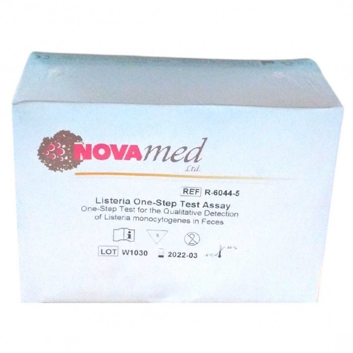 Novamed  Listeria test na infekci listerií