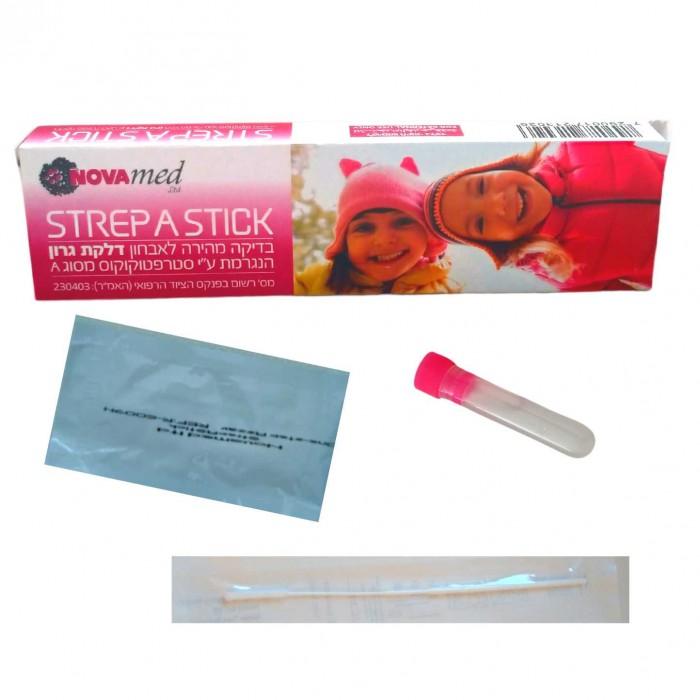 Novamed Strep A Stick Test - domácí test na streptokokovou infekci