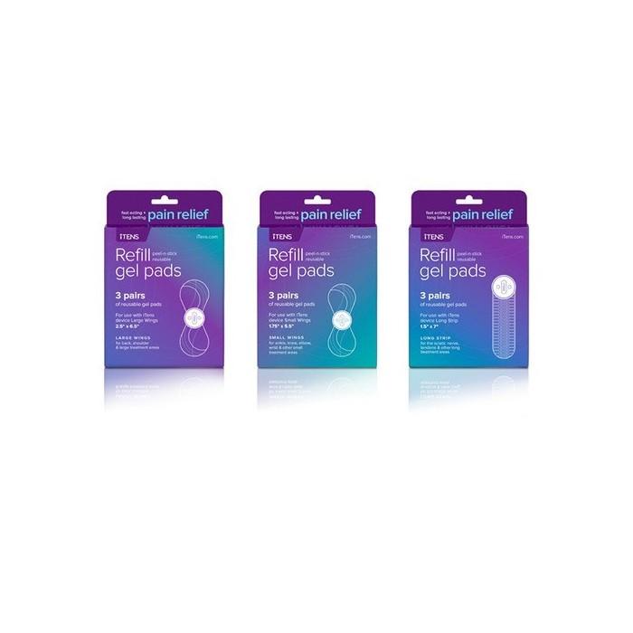 iTENS - náhradné gélové podložky