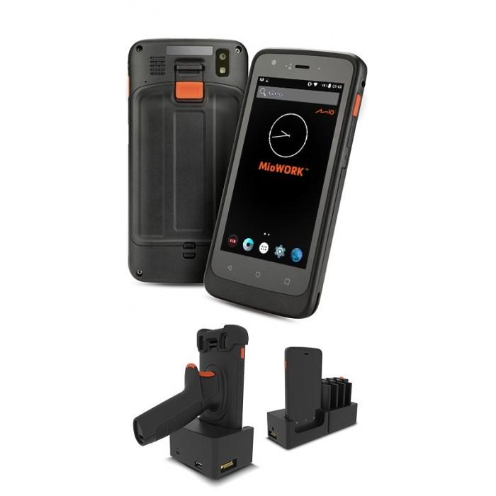MioWORK A505 Tablet, 1D/2D BCR, Wi-Fi- odolný tablet