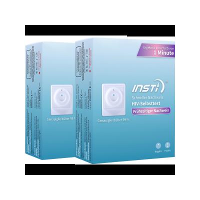 INSTi HIV Self Test - včasná domácí detekce viru HIV - Double - 2ks
